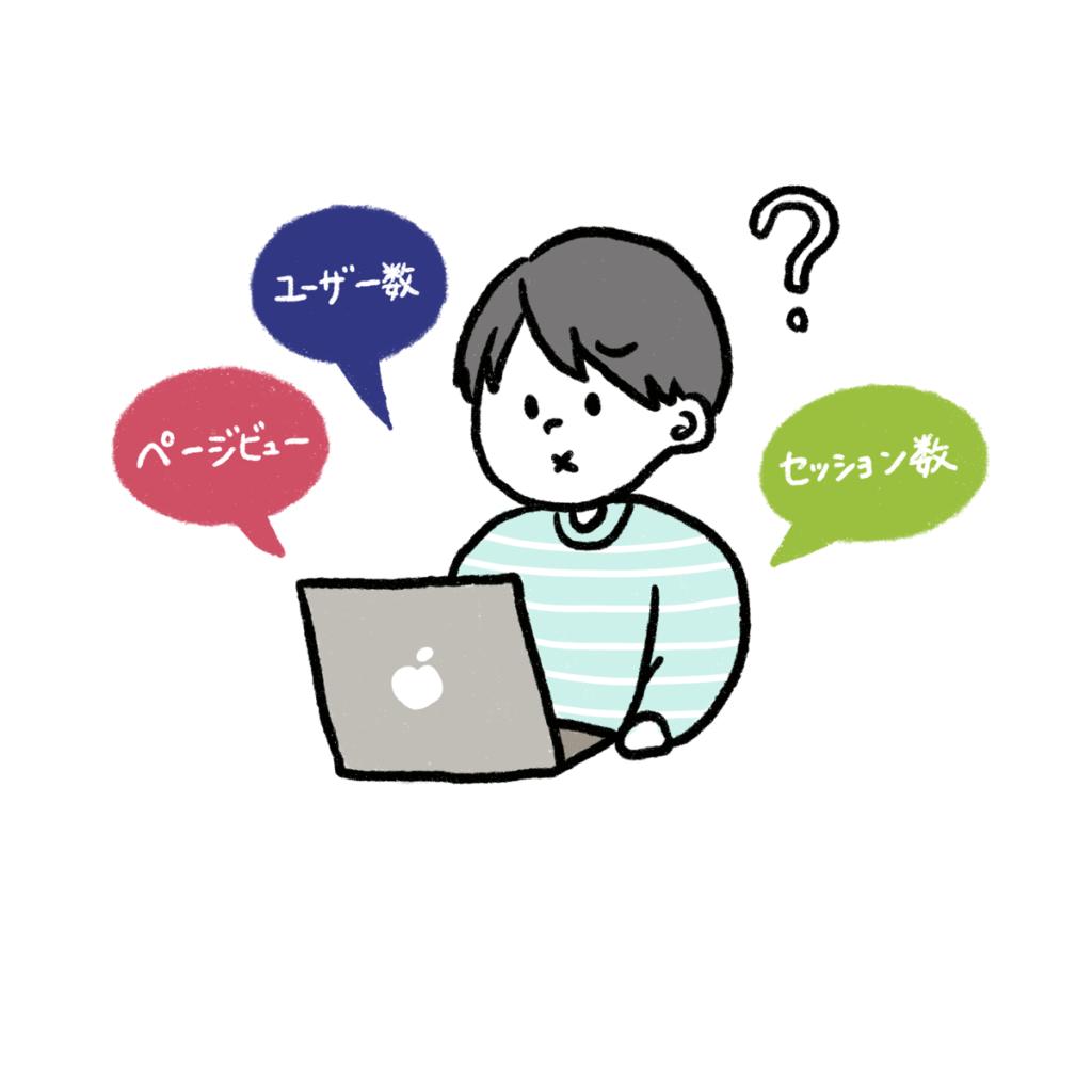 アクセス解析の基本的な用語