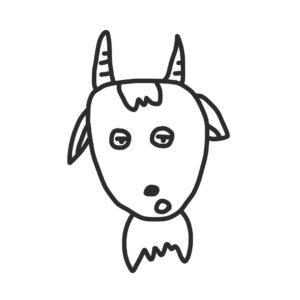 ミラブロのヤギ