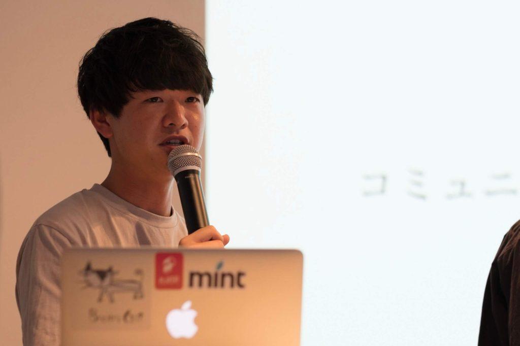 長田涼さん講演